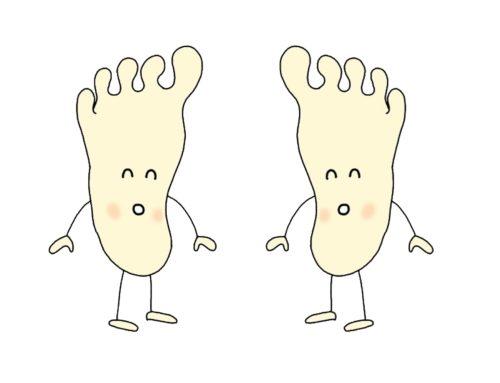 足の指を伸ばすと人生が変わる